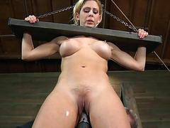 Chained babe needs sexy..