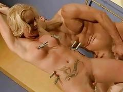 Sex slave gets fucked seem..
