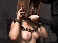 Facial and pussy torture for..
