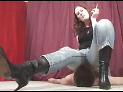 jeans facesit mistress..