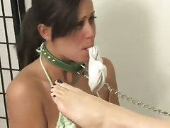 Hot goddess playing with her..