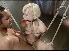 Blond Teen Tied Up and..