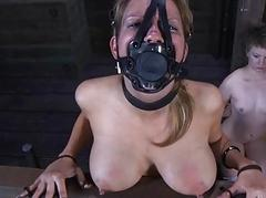 Slaves are clamped up be..