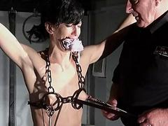 Hardcore bdsm and electric..