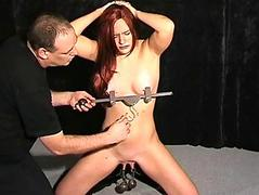 Extreme pussy torture with..