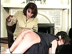 hammer away girls spanked