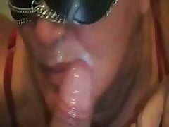 Mouth physical of cum