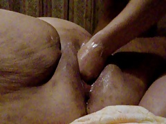 Amateur 44 years old bbw fist