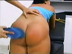 Naughty Girl Spanked