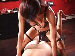 Ebony Mistress on touching..