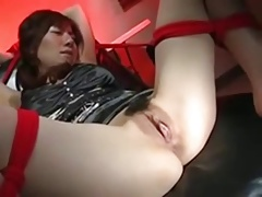Sexy Japanese Office BDSM