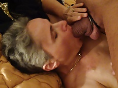 submissive housewife sucking..