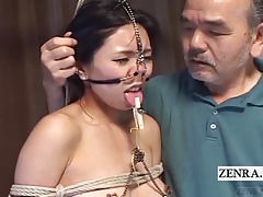 Way-out Japanese BDSM with..
