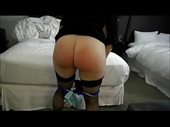 Chubby Wife Spanked For..
