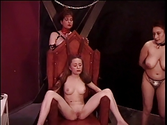 Slutty redhead is tortured..