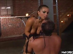 Femdom Sport With Her Slave