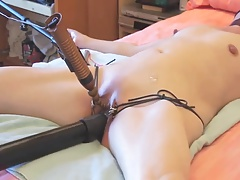 Submissive wife tied and..