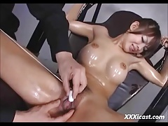 Wet And Messy Asian BDSM..