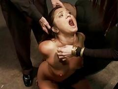 Wench needs a rough torture..