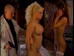 Horny doc in spanking..