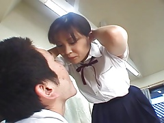 Japanese high school girl..