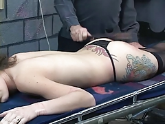 Submissive slut gets body..