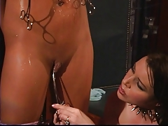 Lesbos seduction and ass..