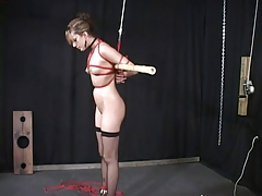 Slave slut teased and punished