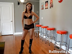 Your ballbusting humiliation..