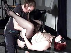 Extreme lesbian bdsm and..