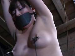 Restrained cutie made to..