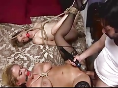 BDSM Anal Threesome
