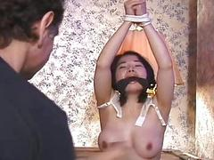 Torture for hot internee