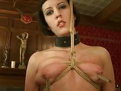 Girl punished by pinch..