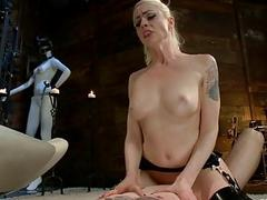 Hot dame manhandled added to..