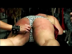 Fatty Restrained Spanked..