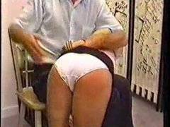 Colourless Y-fronts Spanking..