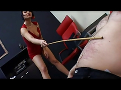 Pro Domme Mistress using Her..