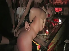 whore used in a bar