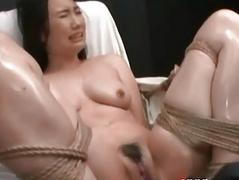 Asian Made To Orgasm With..