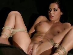 Hot submissive girl getting..