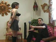 Girl agrees to be secured up