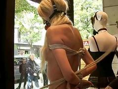 Hot luring girl eaten up and..