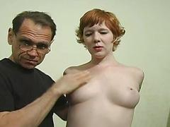 Nipple torture for that bird