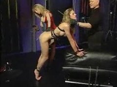 Spank her while daddy watches