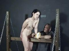 Young slave girls electro..