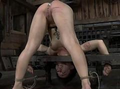 Stuffing beauty with hard toy