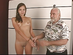 Arrested young night strips..