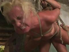 Hot sexslave gets punished..