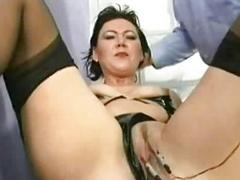 Two comely slaves with nice..